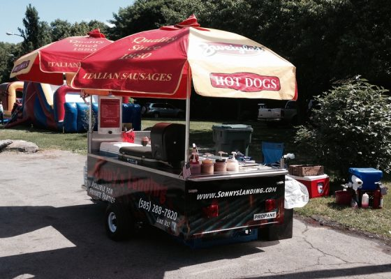 hot dog cart near me