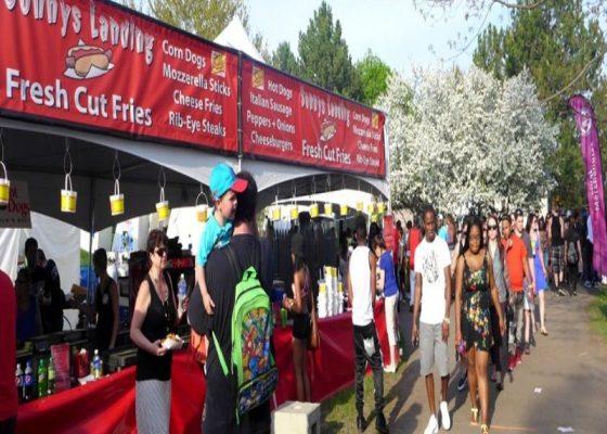 lilac festival food